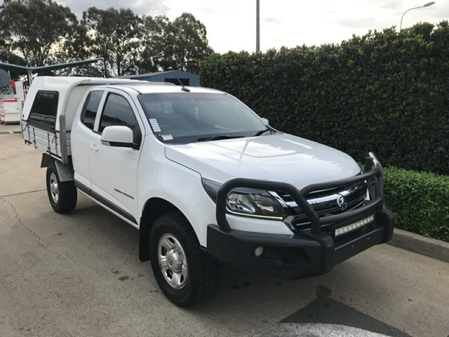 Used Holden Colorado RG MY19 LS Space Cab Acacia Ridge, 2018 Holden Colorado RG MY19 LS Space Cab Summit White 6 speed Automatic Cab Chassis