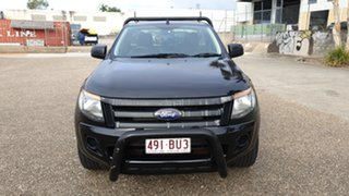 2015 Ford Ranger PX MkII XL 2.2 (4x2) Black 6 Speed Manual Cab Chassis