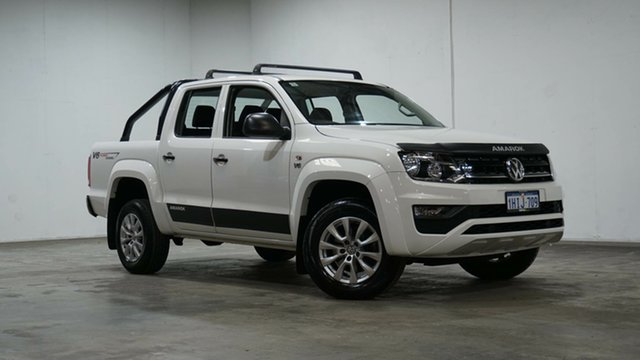 Used Volkswagen Amarok 2H MY19 TDI550 4MOTION Perm Core Welshpool, 2019 Volkswagen Amarok 2H MY19 TDI550 4MOTION Perm Core White 8 Speed Automatic Utility