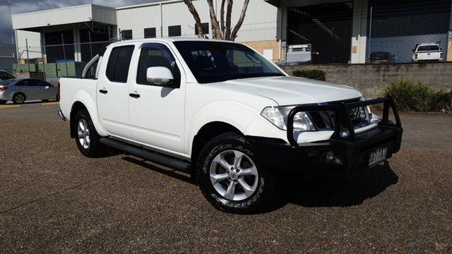 Used Nissan Navara D40 MY12 ST (4x4) Underwood, 2012 Nissan Navara D40 MY12 ST (4x4) White 5 Speed Automatic Dual Cab Pick-up