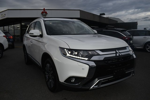 Used Mitsubishi Outlander ZL MY20 Exceed AWD Wantirna South, 2019 Mitsubishi Outlander ZL MY20 Exceed AWD White 6 Speed Constant Variable Wagon