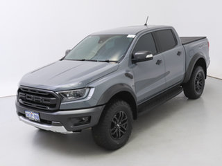 2020 Ford Ranger PX MkIII MY20.25 Raptor 2.0 (4x4) Grey 10 Speed Automatic Double Cab Pick Up