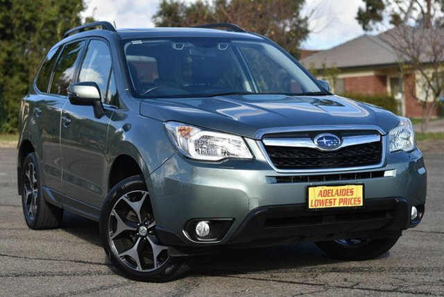 Used Subaru Forester S4 MY14 2.5i-S Lineartronic AWD Enfield, 2014 Subaru Forester S4 MY14 2.5i-S Lineartronic AWD Green 6 Speed Constant Variable Wagon