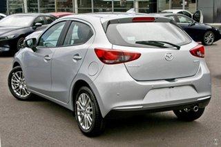2021 Mazda 2 DJ2HAA G15 SKYACTIV-Drive Evolve Silver 6 Speed Sports Automatic Hatchback