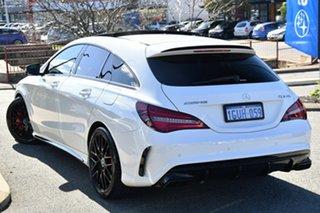 2019 Mercedes-Benz CLA-Class X117 809MY CLA45 AMG Shooting Brake SPEEDSHIFT DCT 4MATIC White 7 Speed.