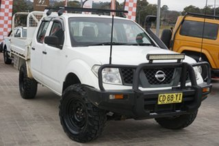 2008 Nissan Navara D40 RX White 6 Speed Manual Utility.