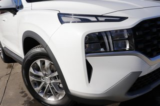 2021 Hyundai Santa Fe Tm.v3 MY21 DCT White 8 Speed Sports Automatic Dual Clutch Wagon.