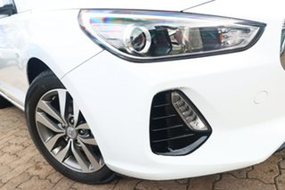 2018 Hyundai i30 PD2 Update Active White 6 Speed Manual Hatchback.
