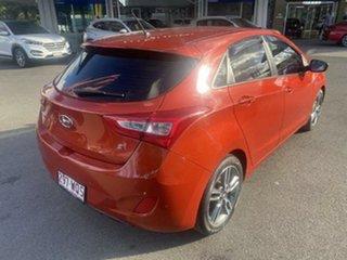 2016 Hyundai i30 GD5 Series II MY17 SR Phoenix Orange 6 Speed Sports Automatic Hatchback.