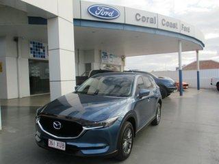 2017 Mazda CX-5 MY17 Maxx Sport (4x4) Blue 6 Speed Automatic Wagon.