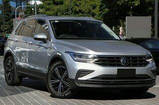 2021 Volkswagen Tiguan 5N MY21 110TSI Life DSG 2WD Reflex Silver 6 Speed.