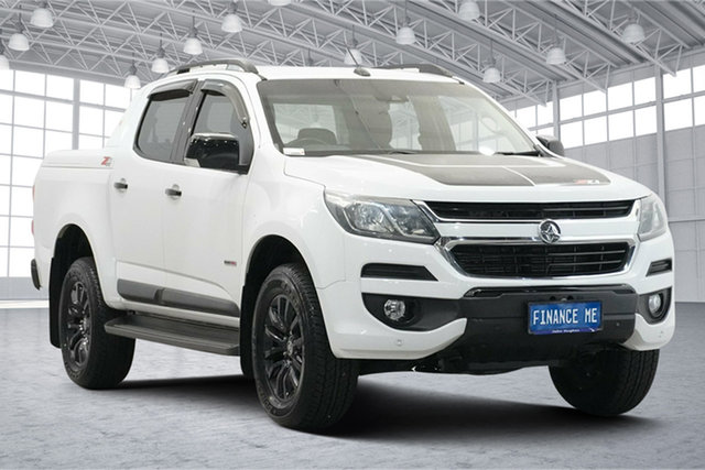 Used Holden Colorado RG MY16 Z71 Crew Cab Victoria Park, 2016 Holden Colorado RG MY16 Z71 Crew Cab White 6 Speed Sports Automatic Utility