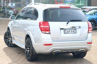 2017 Holden Captiva CG MY18 7 LTZ (AWD) Silver 6 Speed Automatic Wagon.