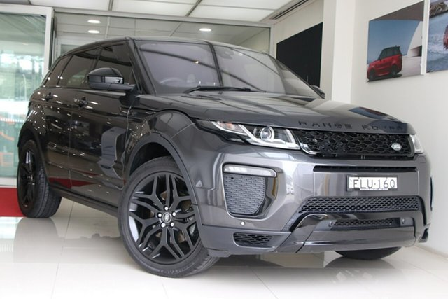 Used Land Rover Range Rover Evoque L538 MY17 HSE Dynamic Brookvale, 2017 Land Rover Range Rover Evoque L538 MY17 HSE Dynamic Grey 9 Speed Sports Automatic Wagon