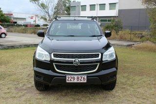 2015 Holden Colorado RG MY16 LS-X Crew Cab Black 6 Speed Sports Automatic Utility.