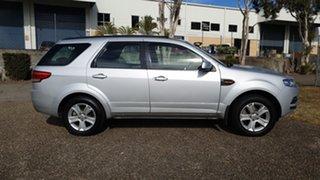 2013 Ford Territory SZ TX (RWD) Silver 6 Speed Automatic Wagon.