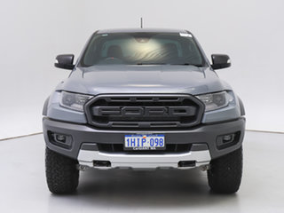 2020 Ford Ranger PX MkIII MY20.25 Raptor 2.0 (4x4) Grey 10 Speed Automatic Double Cab Pick Up.