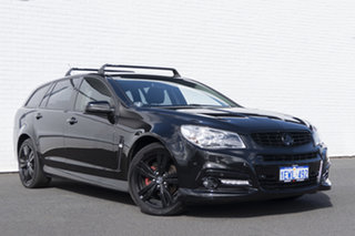 2015 Holden Commodore VF MY15 SV6 Sportwagon Storm Black 6 Speed Sports Automatic Wagon.