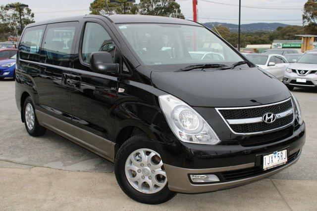 Used Hyundai iMAX TQ-W MY15 Ferntree Gully, 2015 Hyundai iMAX TQ-W MY15 Black/Grey 4 Speed Automatic Wagon