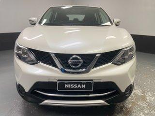2017 Nissan Qashqai J11 N-Sport Ivory Pearl 1 Speed Constant Variable Wagon.