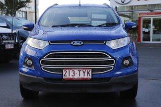 2014 Ford Ecosport BK Trend Blue 5 Speed Manual Wagon.