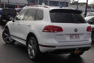 2016 Volkswagen Touareg 7P MY17 V8 TDI Tiptronic 4MOTION R-Line White 8 Speed Sports Automatic Wagon.