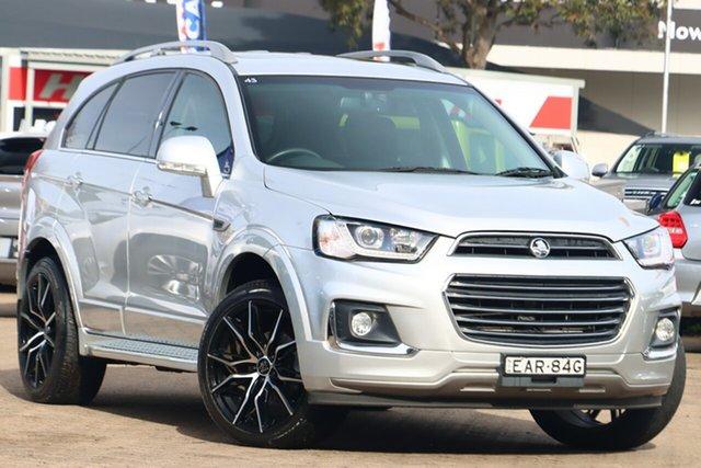 Used Holden Captiva CG MY18 7 LTZ (AWD) Rosebery, 2017 Holden Captiva CG MY18 7 LTZ (AWD) Silver 6 Speed Automatic Wagon