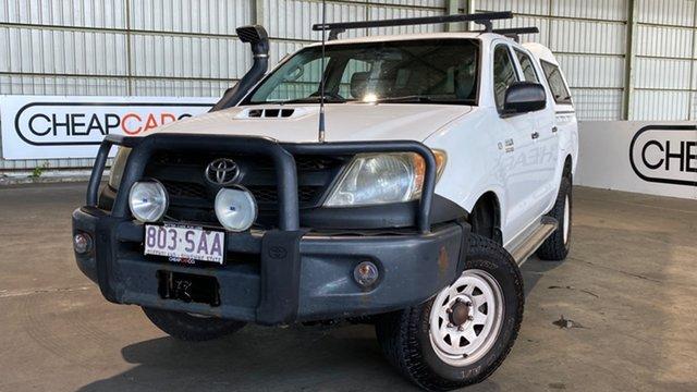 Used Toyota Hilux KUN26R MY05 SR Rocklea, 2005 Toyota Hilux KUN26R MY05 SR White 5 Speed Manual Utility