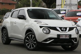 2015 Nissan Juke F15 Series 2 Ti-S X-tronic AWD White 1 Speed Constant Variable Hatchback.