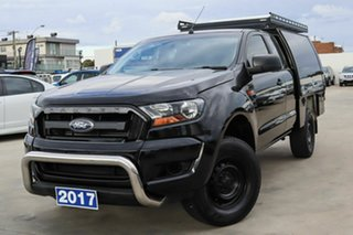 2017 Ford Ranger PX MkII 2018.00MY XL Hi-Rider Black 6 Speed Sports Automatic Cab Chassis.