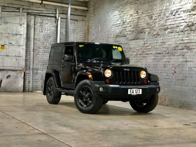 Used Jeep Wrangler JK MY2014 Overland Mile End South, 2013 Jeep Wrangler JK MY2014 Overland Black 5 Speed Automatic Hardtop