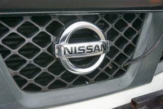 2008 Nissan Navara D40 RX White 6 Speed Manual Utility