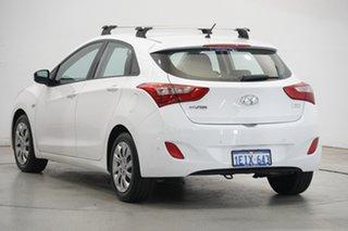 2012 Hyundai i30 GD Active Creamy White 6 Speed Sports Automatic Hatchback