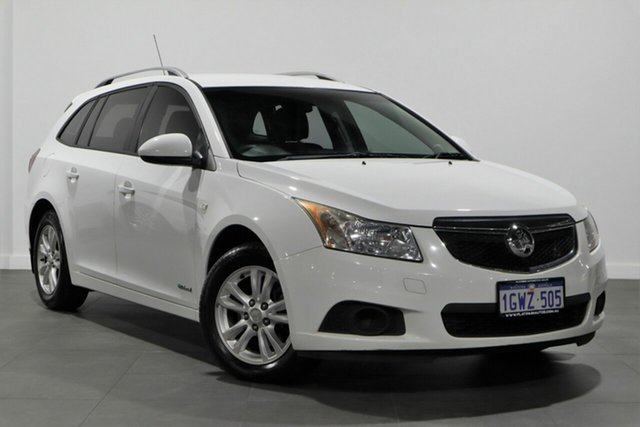 Used Holden Cruze JH Series II MY14 CD Sportwagon Bayswater, 2014 Holden Cruze JH Series II MY14 CD Sportwagon White 6 Speed Sports Automatic Wagon