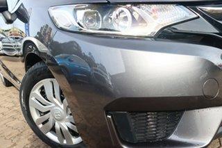 2016 Honda Jazz GK MY17 VTi Grey Continuous Variable Hatchback.