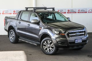 2018 Ford Ranger PX MkII MY18 XLS 3.2 (4x4) Grey 6 Speed Automatic Double Cab Pick Up.