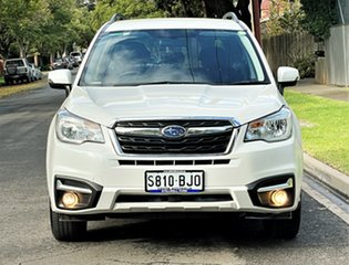 2016 Subaru Forester S4 MY16 2.5i-L CVT AWD Pearl White 6 Speed Constant Variable Wagon.