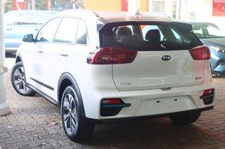 2021 Kia Niro DE 21MY EV 2WD Sport Snow White Pearl 1 Speed Reduction Gear Wagon.