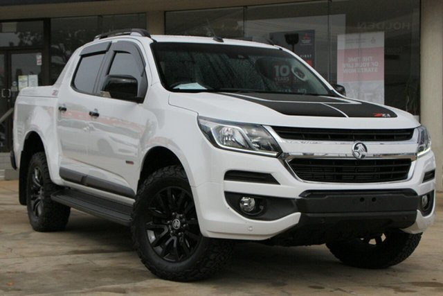 Used Holden Colorado RG MY18 Z71 Pickup Crew Cab Toowoomba, 2017 Holden Colorado RG MY18 Z71 Pickup Crew Cab White 6 Speed Sports Automatic Utility