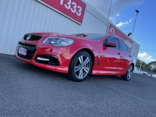 2014 Holden Commodore VF MY14 SV6 Red 6 Speed Sports Automatic Sedan.