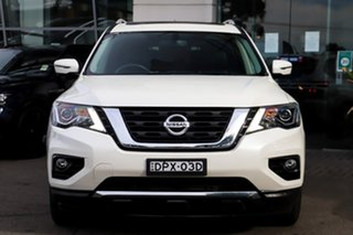 2017 Nissan Pathfinder R52 Series II MY17 ST-L X-tronic 4WD White 1 Speed Constant Variable Wagon