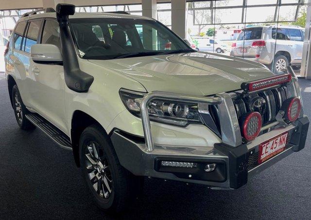Used Toyota Landcruiser Prado GDJ150R Kakadu Winnellie, 2018 Toyota Landcruiser Prado GDJ150R Kakadu White 6 Speed Sports Automatic Wagon