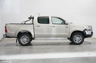 2013 Toyota Hilux KUN26R MY12 SR5 Double Cab Gold 4 Speed Automatic Utility