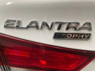 2013 Hyundai Elantra MD3 Trophy White 6 Speed Sports Automatic Sedan