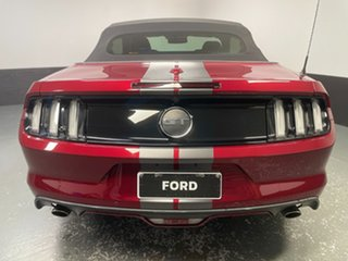 2016 Ford Mustang FM GT SelectShift Ruby Red 6 Speed Sports Automatic Convertible