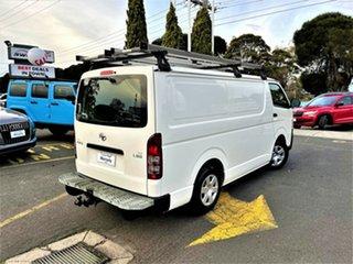 2013 Toyota HiAce KDH201R MY12 LWB White 4 Speed Automatic Van.