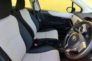 2012 Toyota Yaris NCP130R YR Silver 4 Speed Automatic Hatchback