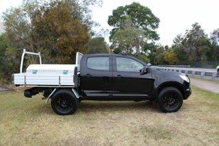 2015 Holden Colorado RG MY16 LS-X Crew Cab Black 6 Speed Sports Automatic Utility