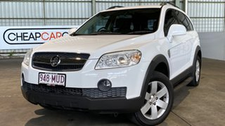 2009 Holden Captiva CG MY09.5 CX AWD White 5 Speed Sports Automatic Wagon.
