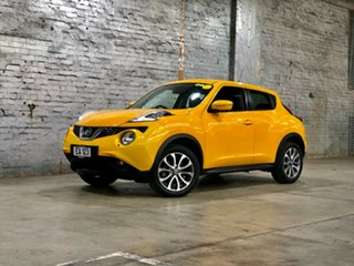 2017 Nissan Juke F15 Series 2 Ti-S X-tronic AWD Yellow 1 Speed Constant Variable Hatchback.